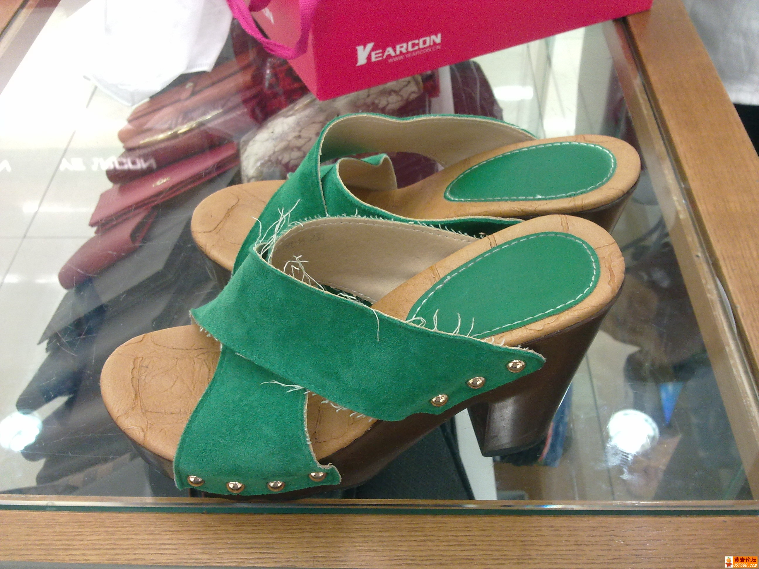 坑人的黄岩意尔康鞋子,鞋子差也就算,服务态度更差,不敢买了 高清图片